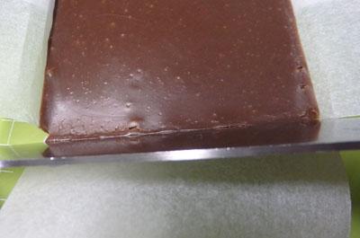 生チョコ クッキングシート くっつく