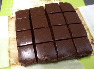 生チョコ 切り方 コツ