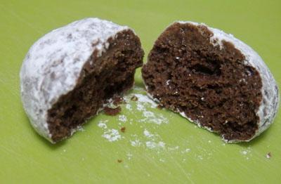 セリア スノーボールクッキー
