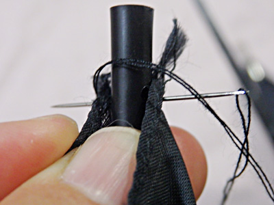 傘 つゆ先 修理 自分 やり方