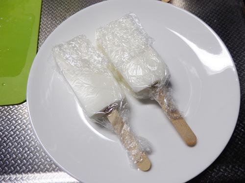 業務スーパー 牛乳パック レアチーズ アイス