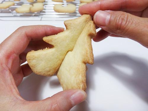 ツリー クッキー 立体