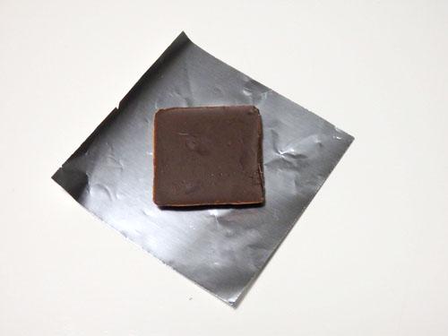 チョコレート ラッピング 写真