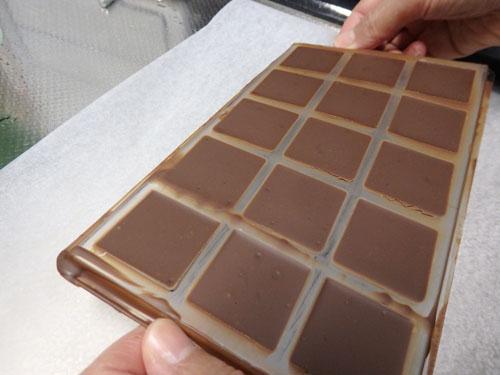 タブレット チョコレート 作り方