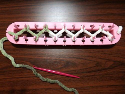 セリア 編み機 使い方