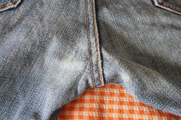 ジーンズ 破れ 補修 手縫い