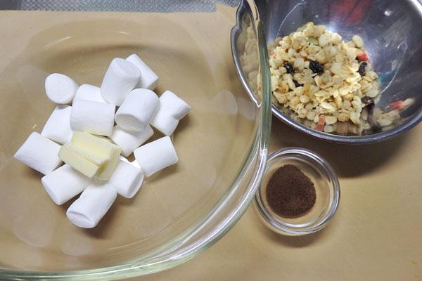 マシュマロ グラノーラ チョコ バー レシピ